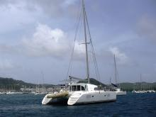 Lagoon Lagoon 380 :  Martinique anchorage